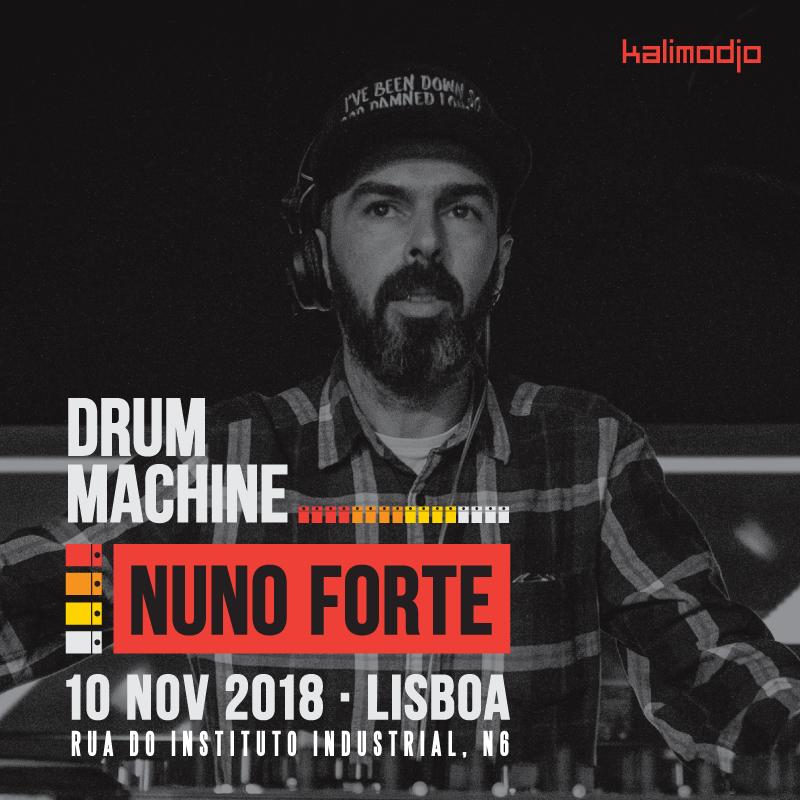 Img - DRUM MACHINE 10.11 :: NUNO FORTE