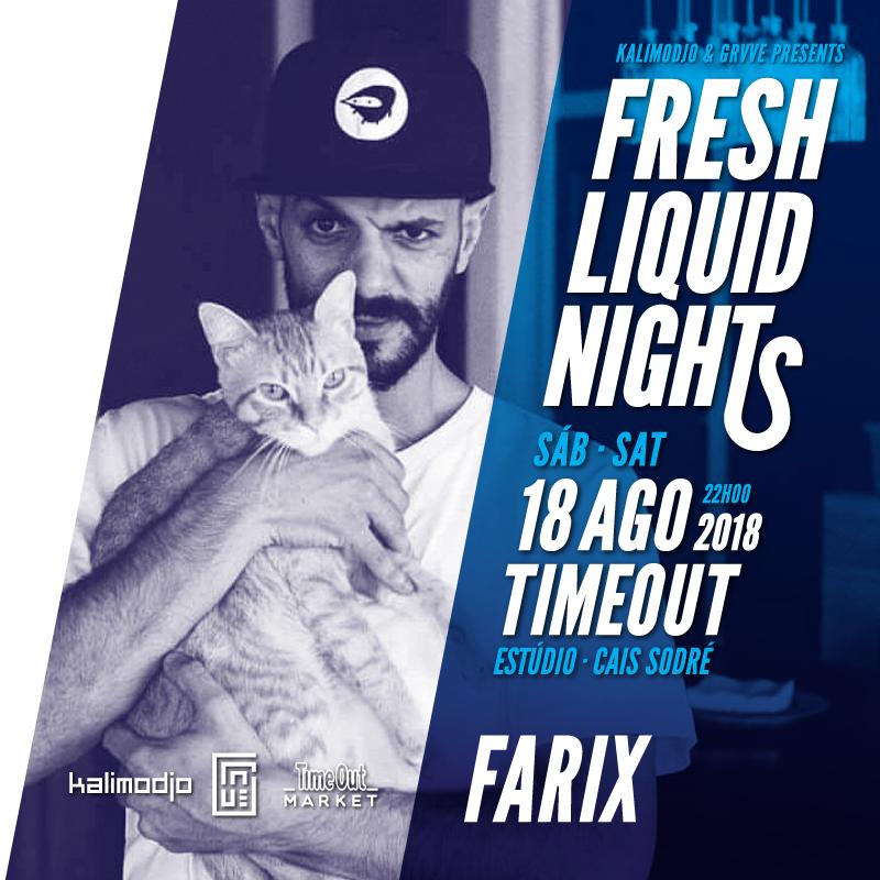 Img - FRESH LIQUID NIGHTS 2018 #01 - 18 AGOSTO 2018 - FARIX