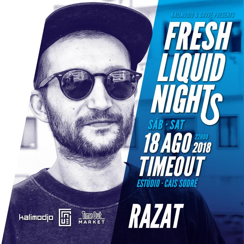 Img - FRESH LIQUID NIGHTS 2018 #01 - 18 AGOSTO 2018 - RAZAT