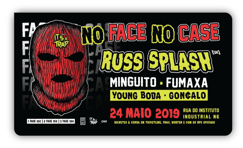 Img - NO FACE NO CASE - 24.05 - INDUSTRIA