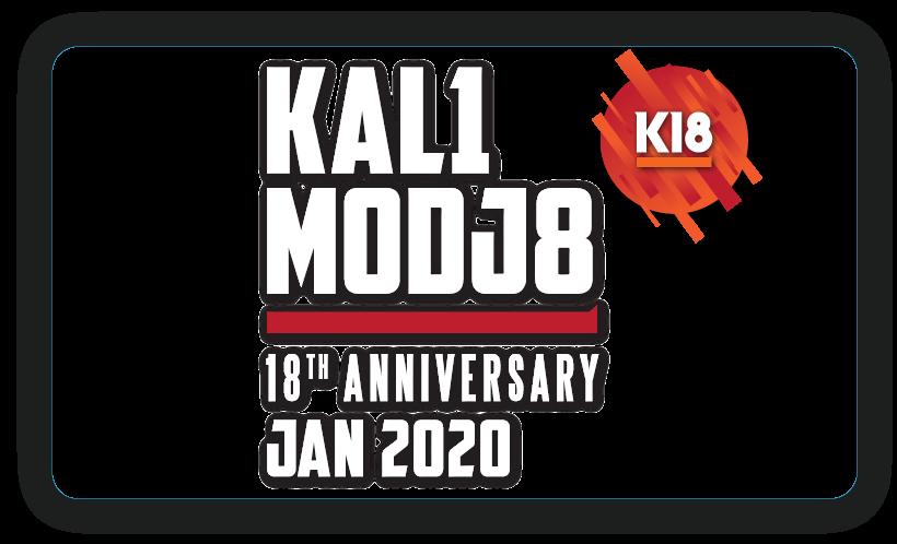 Img - K18 - KALIMODJO 18TH ANNIVERSARY - JANEIRO 2020