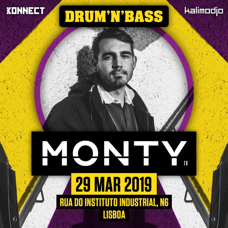 Img - KALIMODJO & KONNECT INVITE MONTY (FR) :: 29.03.2019 :: MONTY