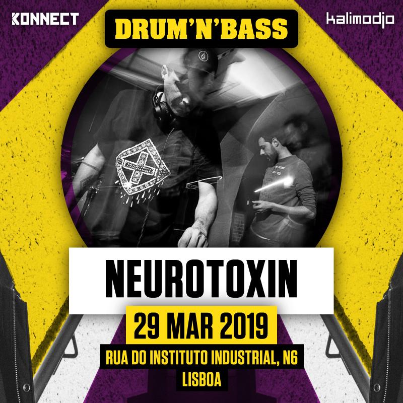 Img - KALIMODJO & KONNECT INVITE MONTY (FR) :: 29.03.2019 :: NEUROTOXIN