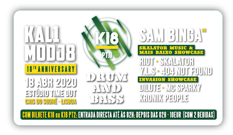 Img - K18 - KALIMODJO 18TH ANNIVERSARY PART 3 - 18 ABRIL 2020