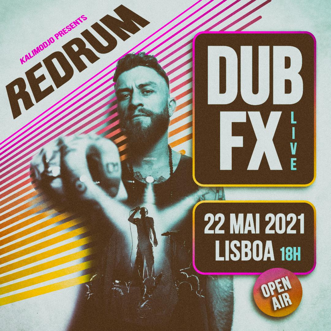 Img - KALIMODJO REDRUM - 22 MAIO 2021 - DUB FX LISBOA